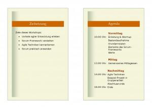 Einführung in Scrum - Zielsetzung & Agenda