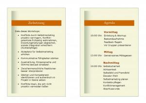 Selbstmarketing für IT-Experten - Zielsetzung & Agenda